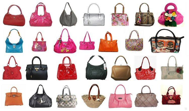 lots of handbags