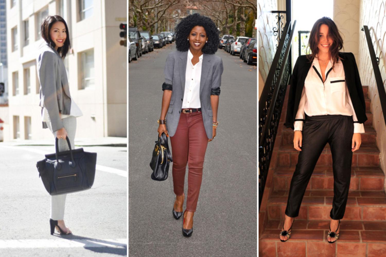 casual formal blazer style